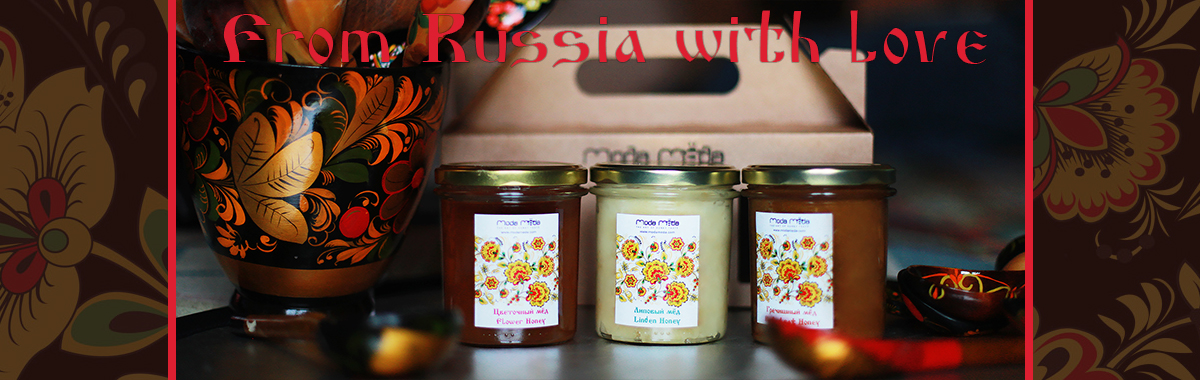 Russian Style Honey Set